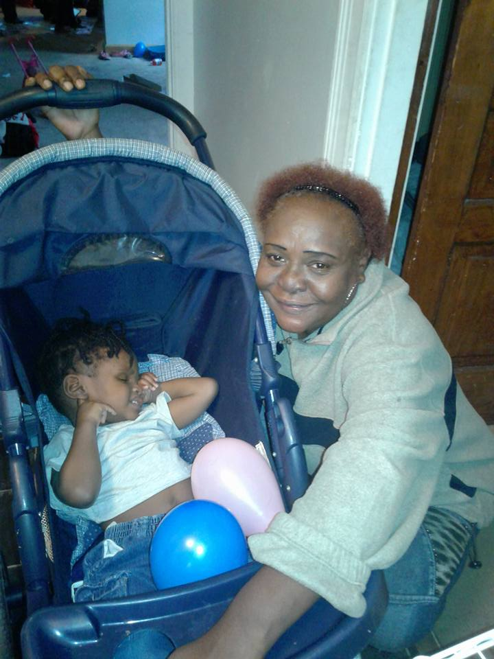 Jamarion Delancy and great-granny