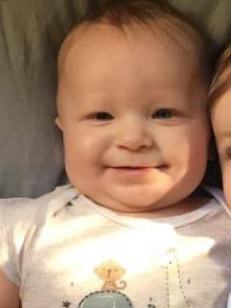 Baby Aiden Leonardo and his big sister, Sophia