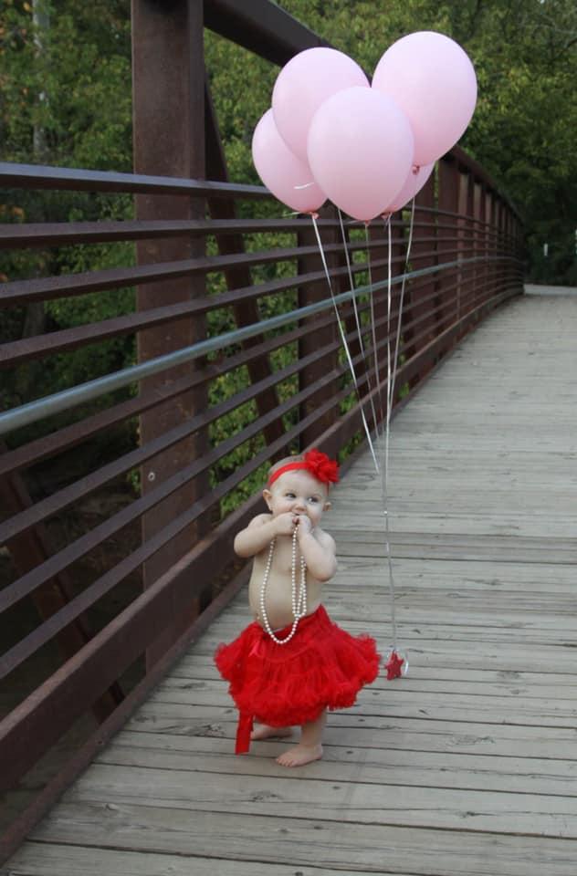 Fallon Fridley 1st birthday