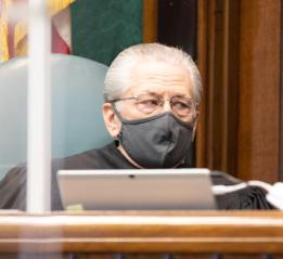 Harrison Circuit Judge James A Matish. (Matt Harvey/WV News)