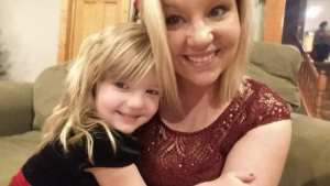 Autumn Hallow and her mom, Kelsey