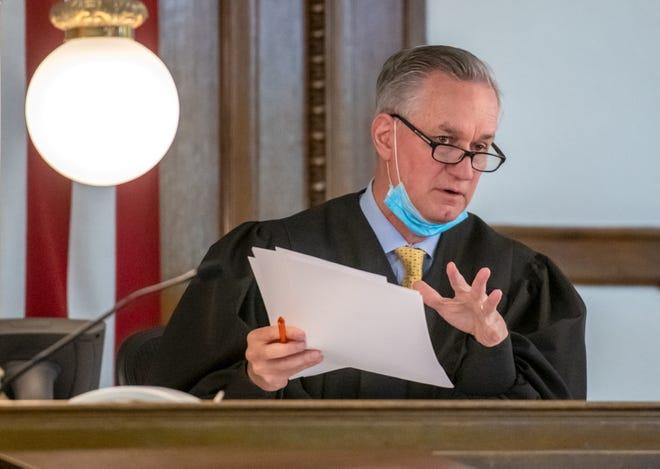 Judge Paul Gilfillan. (Matt Dayhoff/Journal-Star)