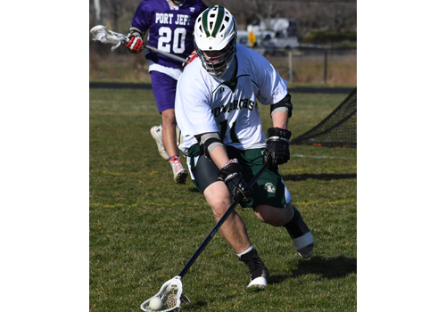 Bishop McGann-Mercy lacrosse player Sam Schrage 033016