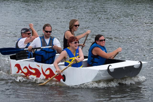 Outlaw Cardboard Boat Race