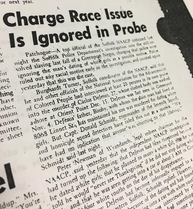 Carlos Dejesus race charge