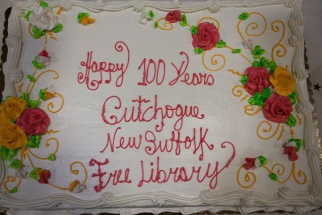 The anniversary cake. (Credit: Katharine Schroeder)