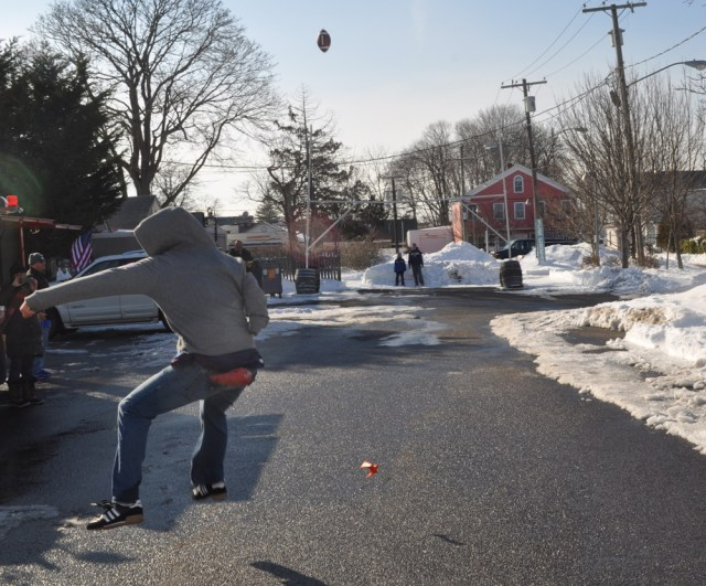 The final kick of the contest sailed wide left for Noah Thomas of Greenport.
