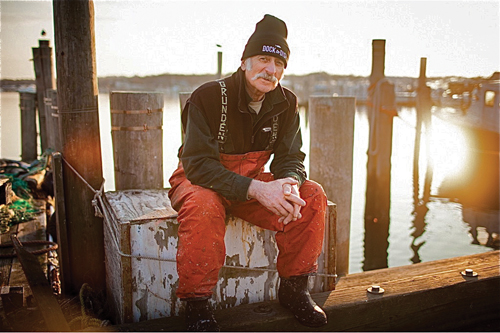 Montauk Captain Bruce Bethwith is one of about 35 fishermen working with Dock to Dish initiative, whose founders have announced a new pickup location on the North Fork. (Credit: Dock to Dish , courtesy)