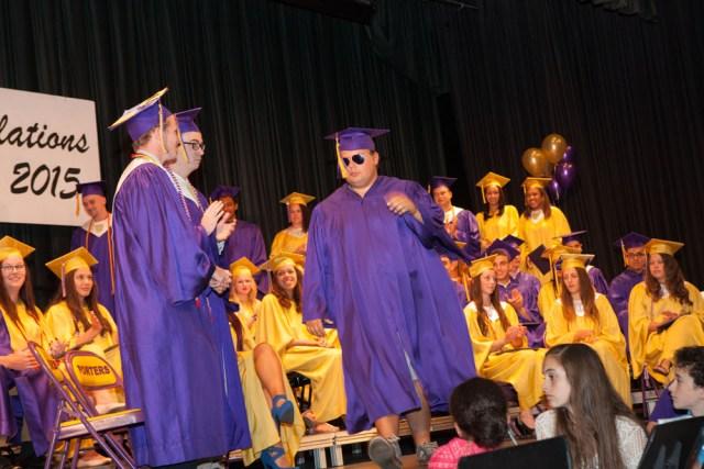 Time for diplomas.