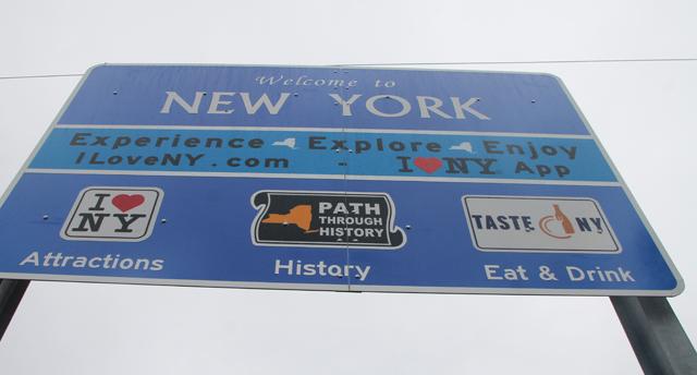I Love NY Sign Orient
