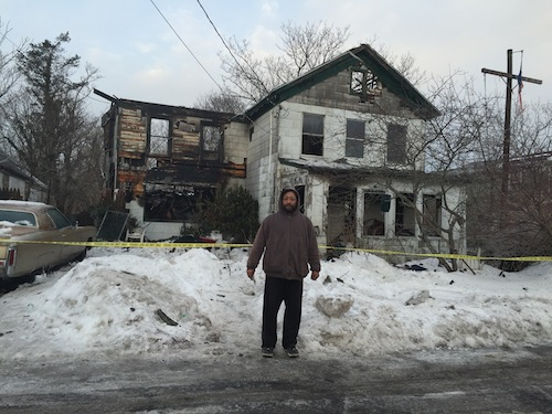 Victor Colon Jr. was one of three residents that escape the early morning house fire. (Credit: Cyndi Murray)