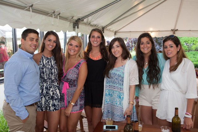 Kait's classmates from Sacred Heart University. (Credit: Katharine Schroeder)