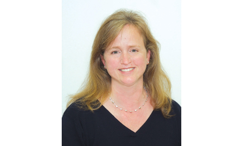Lisa Murray will not remain on the Greenport Board of Education through this school year. (Credit: Courtesy photo)