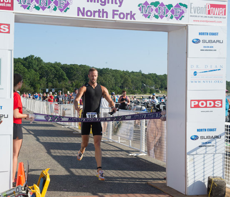 The board voted to allow Mighty North Fork Triathlon's organizers to use Southold roads for the event.  (file photo)