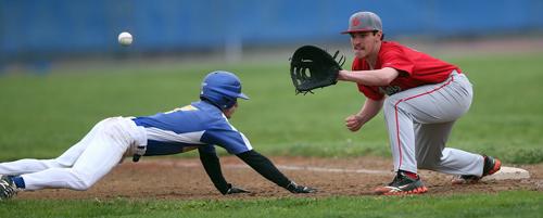 Mattituck baseball player Joe Tardif 050516