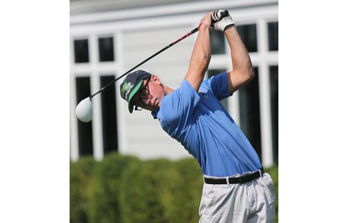 Jon Dwyer's ability to stay composed on the golf course helped him become Mattituck's first all-county golfer in at least 10 years, according to coach Paul Ellwood. (Credit: Garret Meade, file)