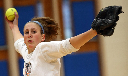 Mattituck softball player Madison Osler 0323816