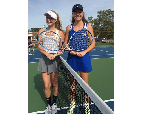 Mattituck tennis player Liz Dwyer 092716