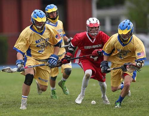 Mattituck:Greenport:Southold lacrosse player Pete Fouchet 052416