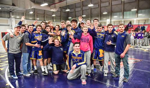Mattituck:Greenport:Southold wrestling team 021217