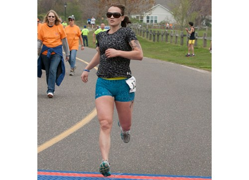 The start of the last year's 5K race in Greenport at the May Mile. (Credit: Katharine Schroeder)