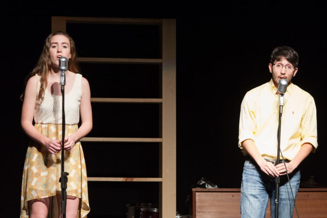 """Katie Lemmen and Eric Hughes perform """"I See the Light."""""""