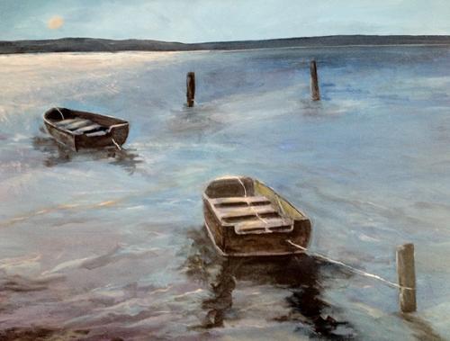 Barbara Zagarek, North Fork, art show