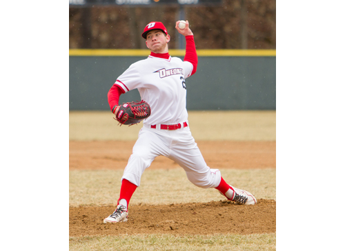 SUNY/Oneonta junior pitcher Steve Ascher was drafted by the Tampa Bay Rays in the 17th round. (Credit: SUNY/Oneonta athletic department)