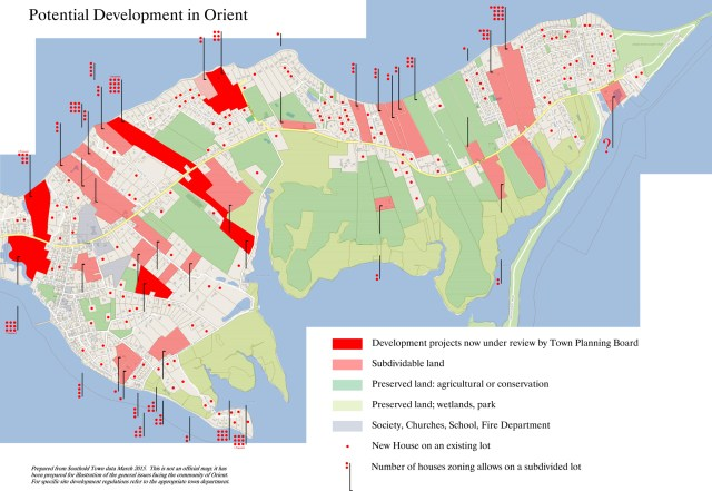 Orient Plan development map
