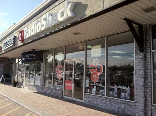 MICHAEL WHITE PHOTO | The Radio Shack store in the Mattituck Plaza.