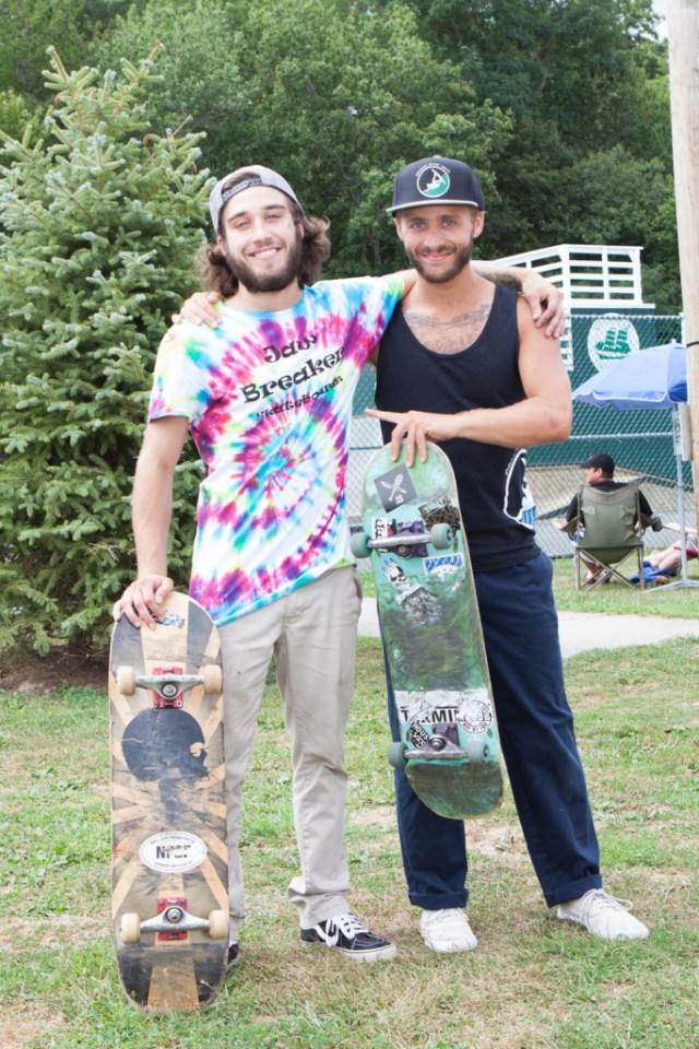 Festival organizers Andrew Semon and Beau Pollock.