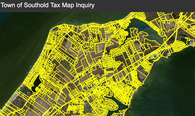 Southold Tax Map inquiry