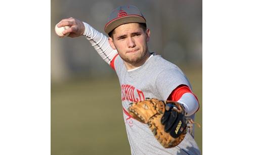 Southold baseball player Greg Gehring 051716