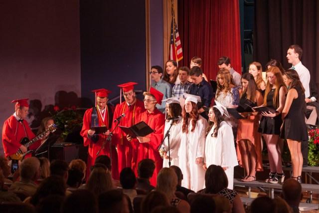 The choir sings. (Credit: Katharine Schroeder)