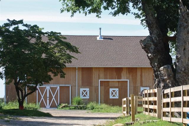 The Showalter Farms property on Main Road in Mattituck. (Credit: Barbaraellen Koch)