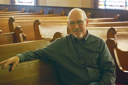 Pastor Tom MacLeod of the newly formed North Fork United Methodist Church previously served as pastor at Sag Harbor United Methodist Church, where he also led efforts to sell the congregation's old building to construct a new church. (Credit: Cyndi Murray)