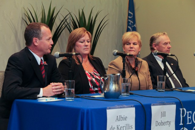 Southold Town Board debate 2015