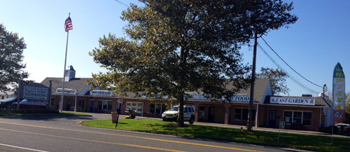 RACHEL YOUNG PHOTO | Retired Peconic businesswoman Sophie Cartselos has purchased the Village of Southold shopping center for $1.6 mil.