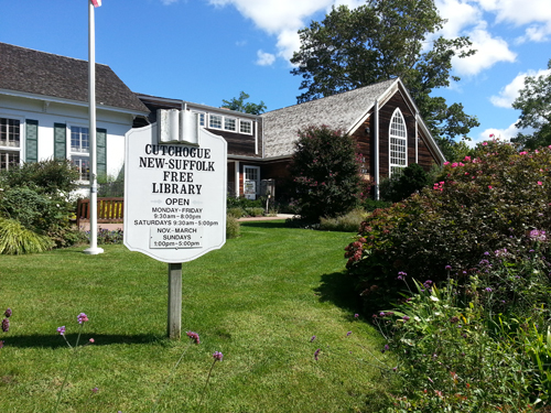 The Cutchogue-New Suffolk Library is home to many great events, including a yard sale this Saturday.