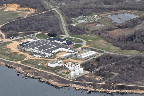 TIM KELLY FILE PHOTO | The main animal disease research lab on Plum Island.
