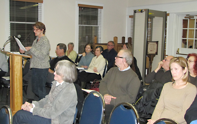 Residents asked the Southold Town Board Tuesday night to curb short-term rentals. (Credit: Tim Gannon)