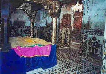 Inside the dargah of Hazrat Salim Chishti