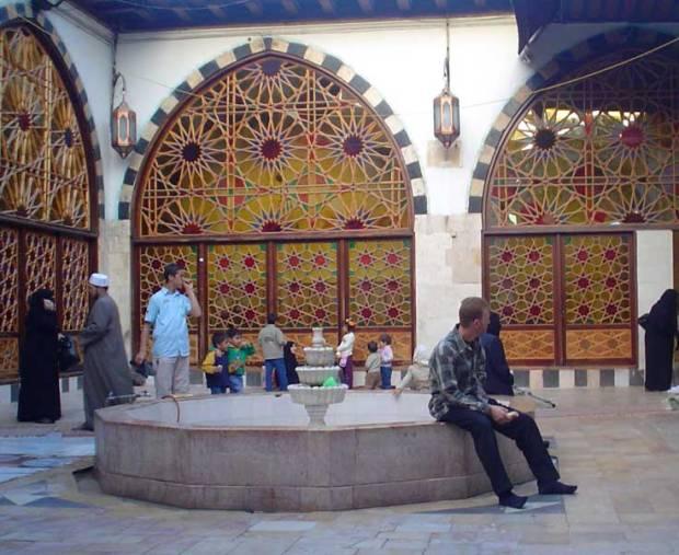 Shaykh Ibn al-'Arabi, Damascus