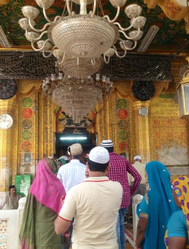 Main entrance to the dargah of Khwaja Mo'inuddin Chishti