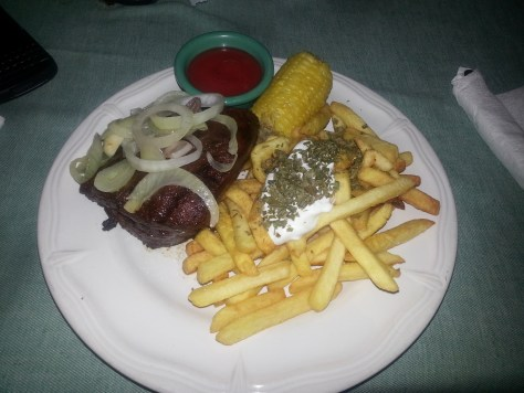 10 oz Steak at Medusa Bar and Grill