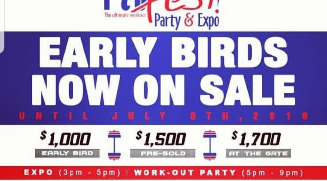 Save the Date for this Fitness Party & Expo!