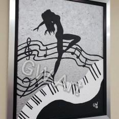"""Framed Acrylic on (24×30)"""" Canvas"""