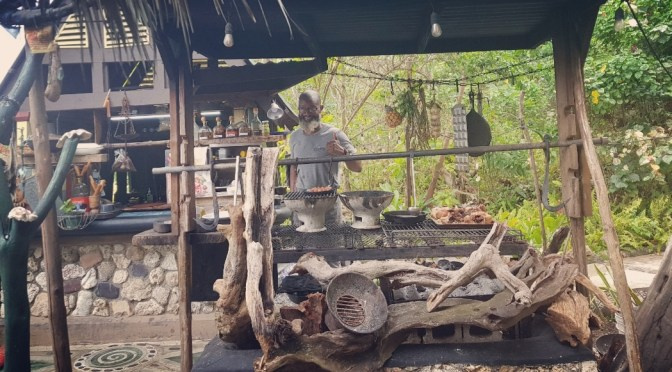 Open Fire Cooking by Chef Conroy Arnold During Love in the Time of Corona!