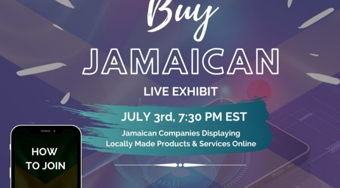 Join the JMEA for Episode 2 of the Buy JAMAICAN Live Exhibit this FRIDAY Night!