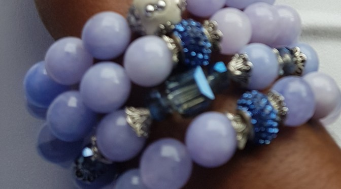 Handmade, Stacked Beads from Beauty and the Beads Ja!